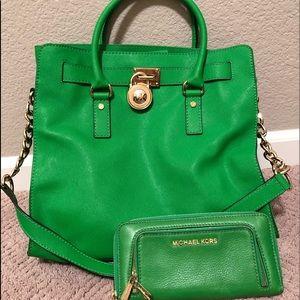 Michael Kors Handbag and matching wallet